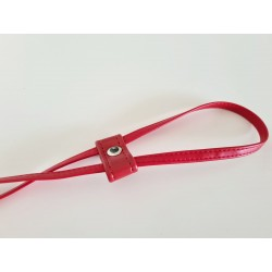 Ściągacz do torebki czerwony