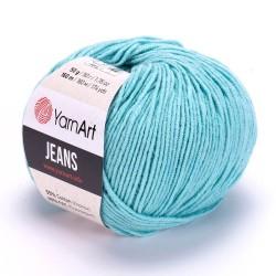 Yarn Art Jeans 81 lazurowy