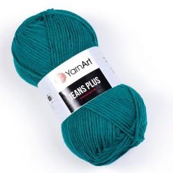 Yarn Art Jeans Plus 63 morski