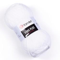 Yarn Art Jeans Plus 62 biały